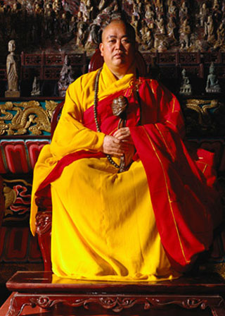Shi Yongxin, current Abbot of the Shaolin Temple.