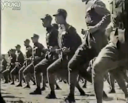 Guoshu demonstration by Nationalist Troops, Hunan 1937.