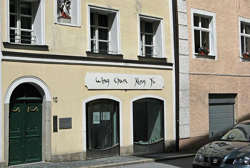 A modern urban Wing Chun School in Passau, Germany.