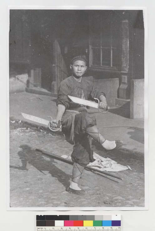 Arnold Genthe and Will Irwin. Genthe's Photographs of San Francisco's Old Chinatown. New York: Mitchell Kennerley. 1913. (First published in 1908). A high resolution scan of the original photograph can be found at the Bancroft Library, UC Berkley).