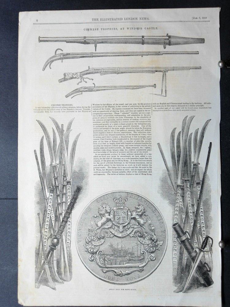 London Illustrated News, January 6th, 1844. P. 8.