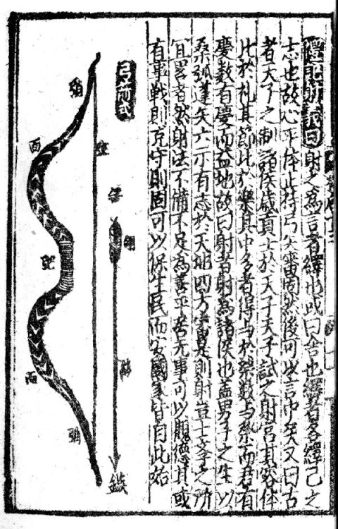 A page from the 'Guided Tour Through the Forrest of Facts' (Shi Lin Guang Ji) by Chen Yuanliang as reprinted during the Yuan dynasty (circa 1300).  Source: http://www.atarn.org