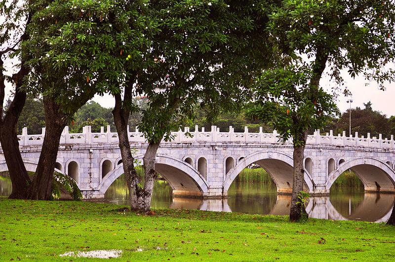Chinese Garden Bridge.  Singapore.  Source: wikimedia.