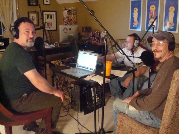 The Hiyaa Podcast team in their Atlanta, GA studio location.  This is where the magic happens!