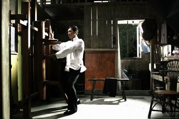 Donny Yen reprises his role as Ip Man.  Is this Ip Man your role model?