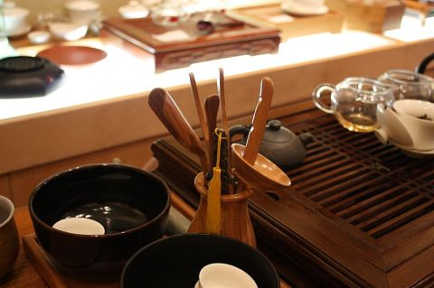 Chinese tea utensil. Source: Wikimedia.