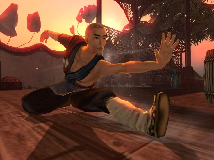 A screen shot from Jade Empire.  Source: Rob Argent.