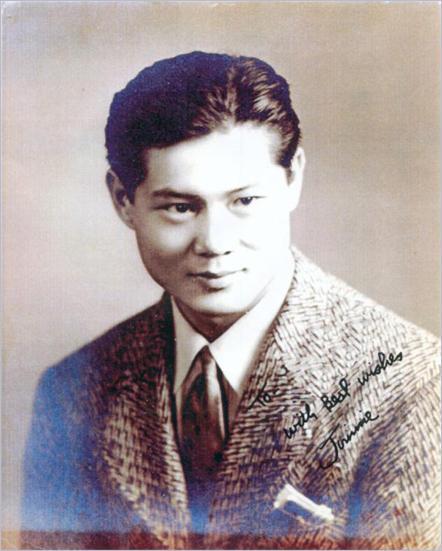 A portrait of James Yim Lee.