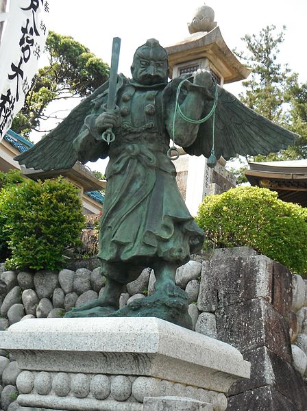 Another statue of a Tengu.  Source: Wikimedia.