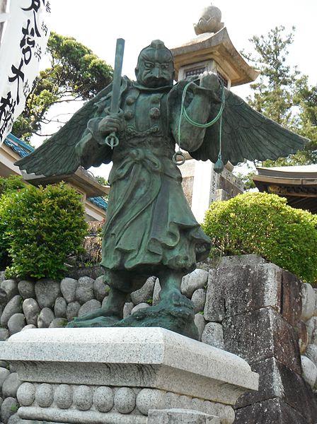 Another statue of a Tengu.  Source: Wikimedia.