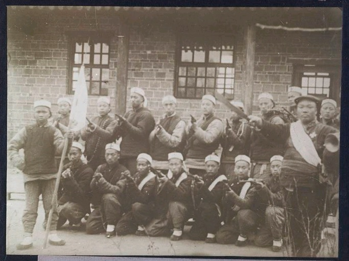 A Militia in Shanxi Province.  Source: Getty Archive.