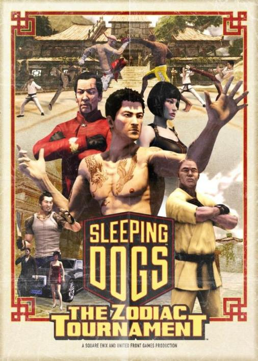 Advertisement for Sleeping Dogs.  Source: Rob Argent.