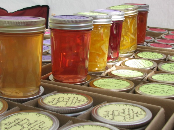 Jelly for sale in Naples NY, 2013.  Source: Photo by Tara Judkins.