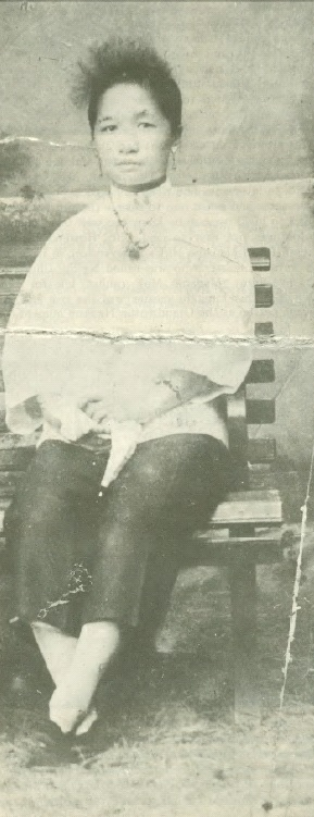 Mok Kwai Lan when approximately 16 years old.  Source: Real Kung Fu Vol. 1 number 7.
