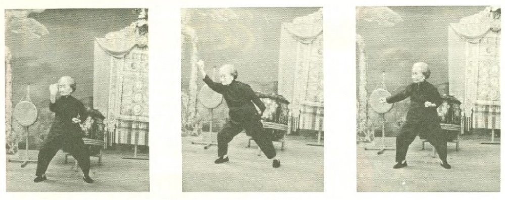 "Mok Kwai Lan demonstrating her family's ""Iris Breaking"" set on Hong Kong Television in 1970.  Source: Real Kung Fu Vol. 1 Num. 7"