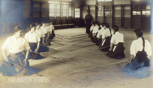 Naganita Class. Okayama City, 1935. Source: Old Japan Photos.