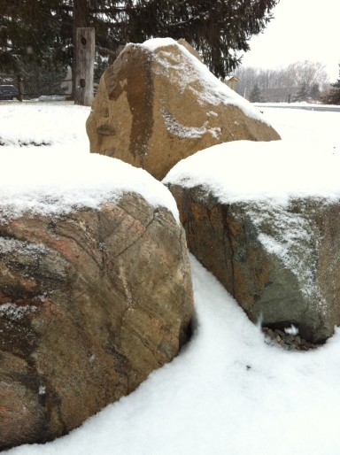 New snow on Christmas Eve.  Genesee Valley.  Photo by Benjamin Judkins.