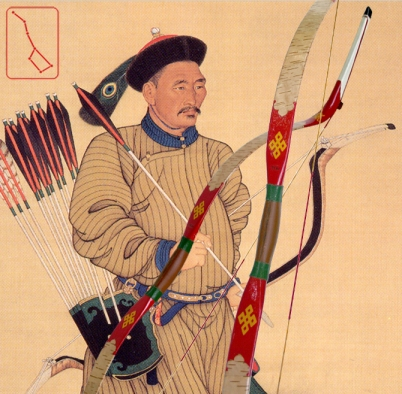 "The ""Qing Conquest Bow.""  Source: Seven Star Trading Company."