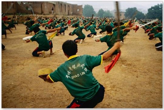 Shaolin Students