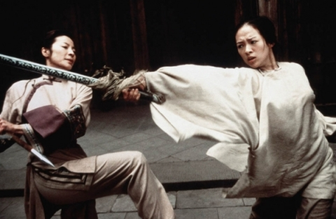 "A still from ""Crouching Tiger, Hidden Dragon,"" directed by Ang Lee."