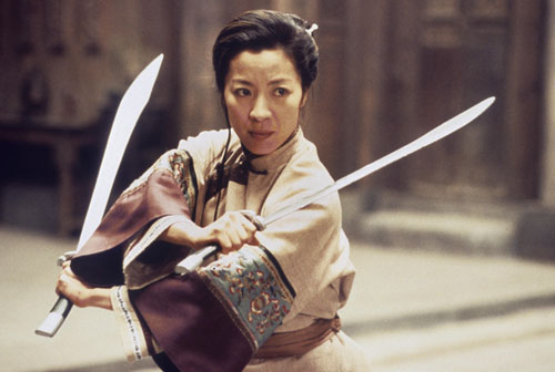 Michelle Yeoh in a scene from CROUCHING TIGER, HIDDEN DRAGON, 2000.