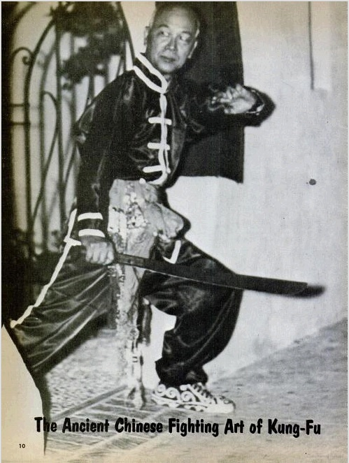 Master Wong, from his feature article in Black Belt Magazine, January 1965.