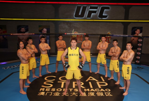 Cast of The Ultimate Fighter: China.  Source: http://mma-in-asia.com