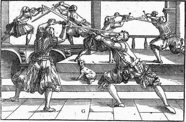 Illustration from Meyer's Longsword. Source: Bloody Elbow, MMA History Blog.