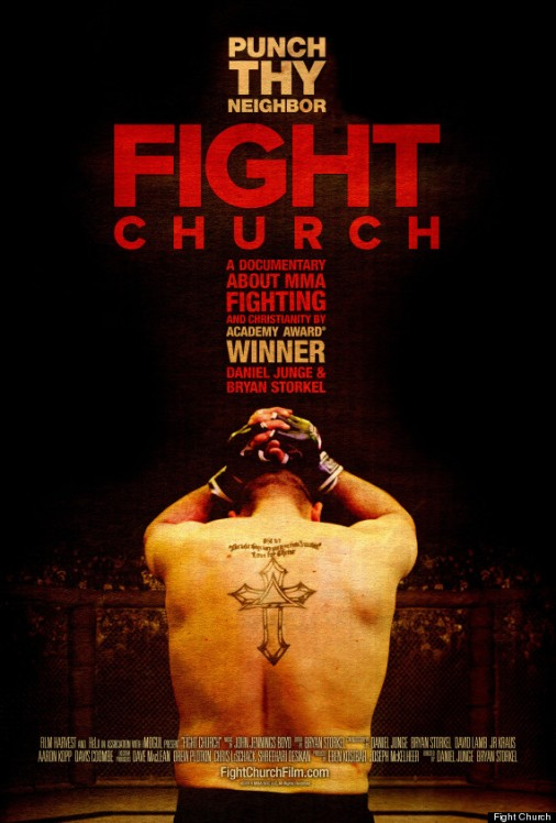A promotional poster for Fight Church.