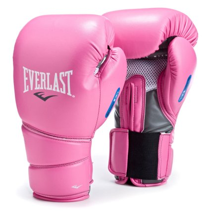The same type of pink boxing gloves favored by my wife.  Source: www.everlast.com