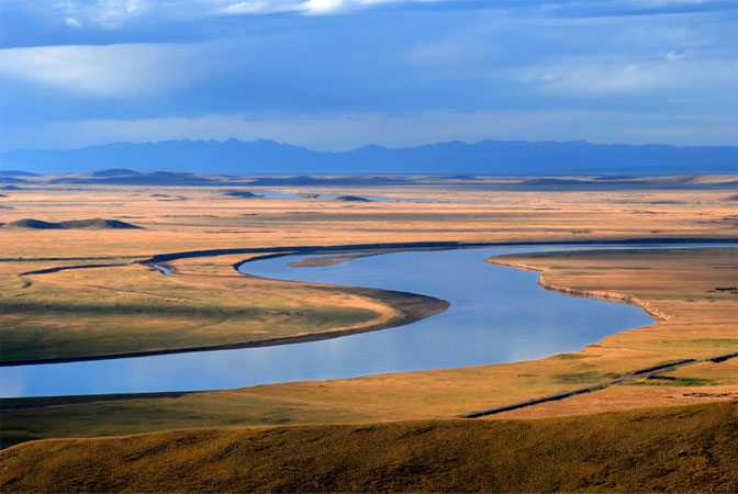 The Yellow River.  Source: PBS.org