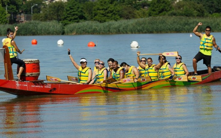 A Dragon Boat in Queens, NY.  Ssource: Dailybeast