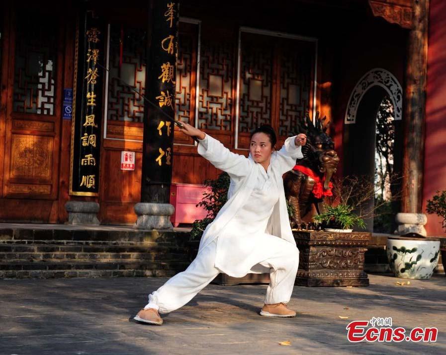"""""""Sister Wudang.""""  Source: China Daily."""