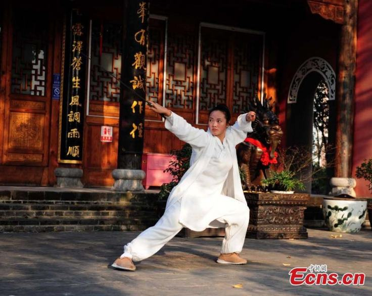 """Sister Wudang.""  Source: China Daily."