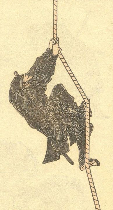 Page from volume 6 of the 15-volume Hokusai Manga (sketches collection).  Source: Wikimedia (cc).