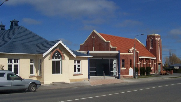Taiji classes will no longer held at this Central Southland Presbyterian Church hall.  Source: The Southland Times