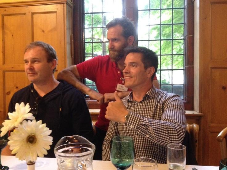 Left to Right: Doug Farrer, Scott Phillips, Paul Bowman.  Source: http://martialartsstudies.blogspot.com/2015/06/conference-2015-and-2016.html