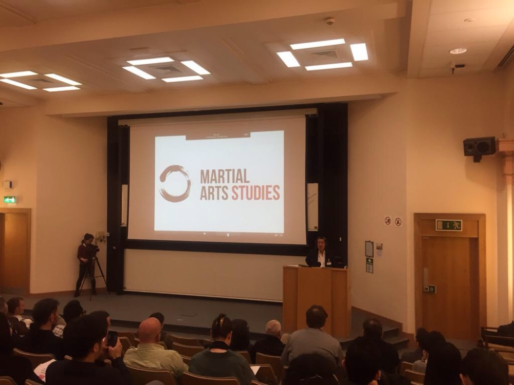 Stephen Chan delivering the conferences opening keynote. Source: http://martialartsstudies.blogspot.com/2015/06/conference-2015-and-2016.html