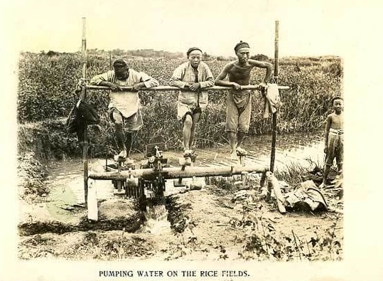 Chinese irrigation machine