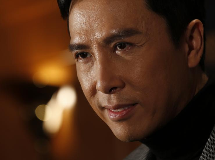 Donnie Yen, who is reported to have beat out Jet Li for the opportunity to appear in the new Star Wars franchise.  Source: http://www.ibtimes.com.au