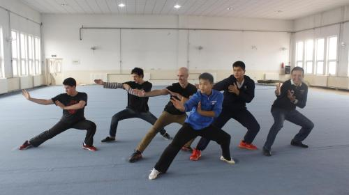 International Students Fall in Love With Wushu. Source: ECNS.CN