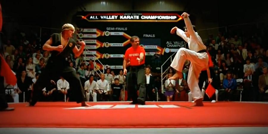 Karate Kid Original Ending