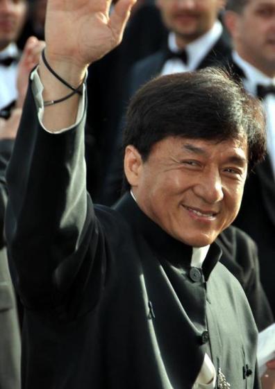 Jackie Chan.  Source: Wikimedia.