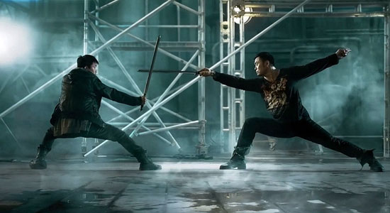 A scene from Teddy Chen's Killer Kung Fu.  Source: Business World.