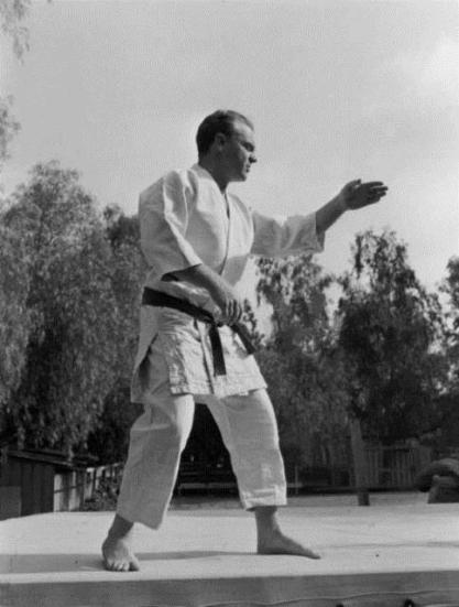 James Cagney – Oscar-winning Judoka (ca. 1943)