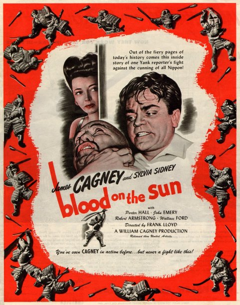 James Cagney.  Blood on the Sun