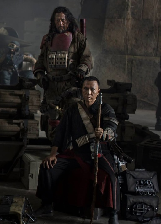 A close up of Donnie Yen in a cast photo for Rogue One. Source: Starwars.com