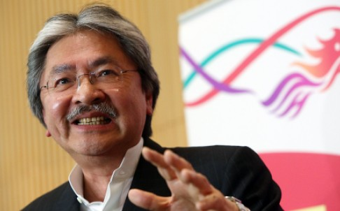 John Tsang. Source: SCMP