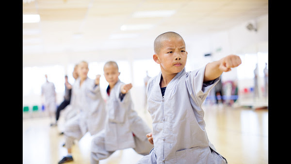 Shaolin Masterclass. Photo by Jack Latham. Source: FT.com