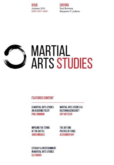 Martial Arts Studies.cover.issue 1